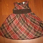 2-3 года(92-98см) Baby Gap Америка Нарядное платье. Идеальное состояние!
