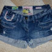 Стильные джинсовые шорты,размер 10 (М),Denim