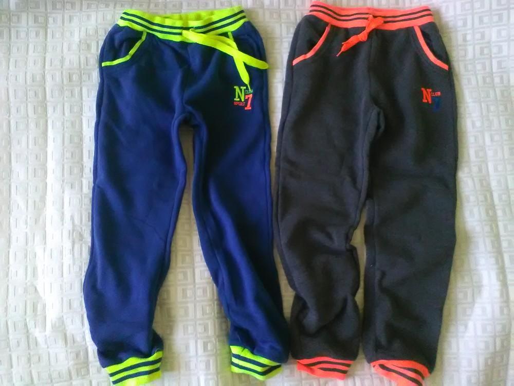 Спорт.брюки с начесом р.128-146 венгрия фото №1