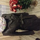Пальто женское кожзам