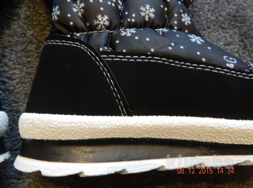 Дутики олени чёрные, 36-41р фото №15