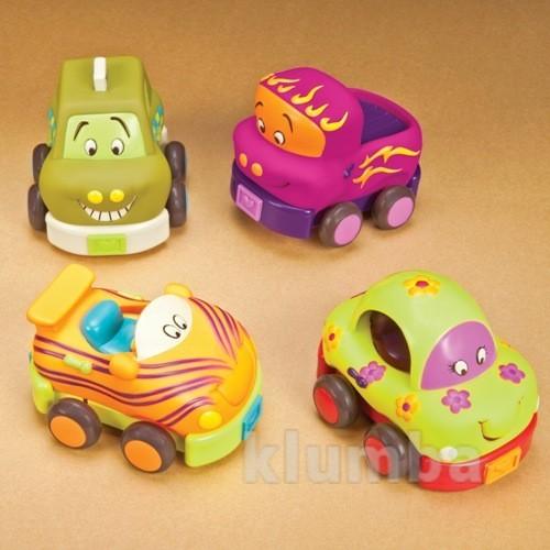 Battat батат игровой набор забавный автопарк машинки bx1048z баттат фото №1