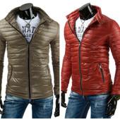 куртка мужская стеганая на осень-весну