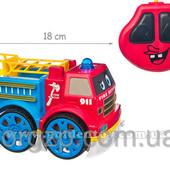 Пожарная машина для малышей р.у. свет. муз