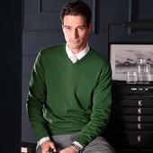 Изысканные свитер  зеленый 52/54р тсм Tchibo Германия