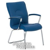 Офисное кресло конференционное Felicia Cfa Lb steel chrome Le [кожа Lux]