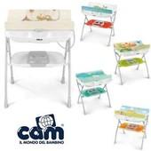 Пеленальный столик + ванночка Cam Volare цвета 2017