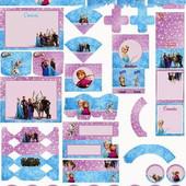 Более 50 наборов на 27 тем. Электронная версия. Архив с шаблонами для организации детского ДР.