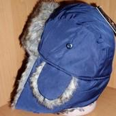 Зимняя брендовая шапочка! унисекс