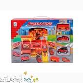 Гараж для пожежних машин (метал.) (коробка) 660-77