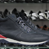 мужские зимние ботинки кожа 3 модели Код 122,123,124