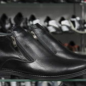 зимние ботинки классика 2 модели код: 104,105