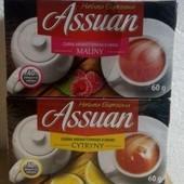 Чай черный Assuan, 40 пакетиков(лимон, малина)