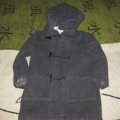 Only Кашемировое пальто на мальчика 6-8- лет р 122-128 осень-зима