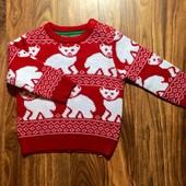 Новый свитер на 12-18 м.