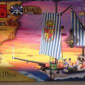 """Конструктор Brick 305 """"Пиратский корабль"""" 310 дет."""