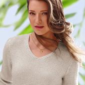 Пуловер металлизированный 54-56 xxxl tcm tchibo Германия