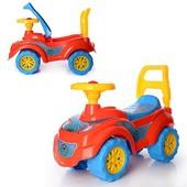 Машинка Спайдермен 3077 толкатель толокар автомобиль для прогулок