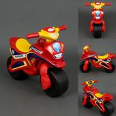 Байк Полиция Мотоцикл красно-желтый 0138/560 беговел Долони
