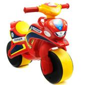 Байк Полиция Мотоцикл красно-желтый 0139/560 беговел Долони