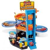 Bburago Игровой набор Паркинг 3 уровня, 2 машинки 1 43 гараж парковка заправка лифт