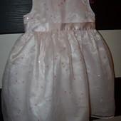 Очень нарядное романтичное и пышное платье для маленькой принцессы 2 - 3 года