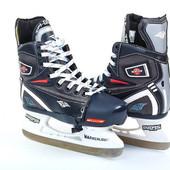 Коньки хоккейные детские раздвижные Ice Skate KH091: 32-35 размер