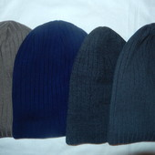 Мужская шапка-колпак,сзади на складку,6цветов