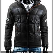 Мужская спортивная куртка с капюшоном