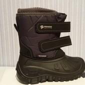 Незаменимая обувь, детские сапоги сноубутсы дутыши для морозов и слякоти в наличии Р-ры 28-37