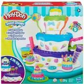 Play Doh игровой набор Праздничный торт A7401 Плей Дох