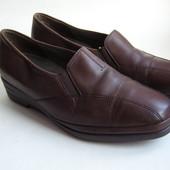 Туфли кожаные Semler Leichtfüßig, размер 40,5 - 26,5см