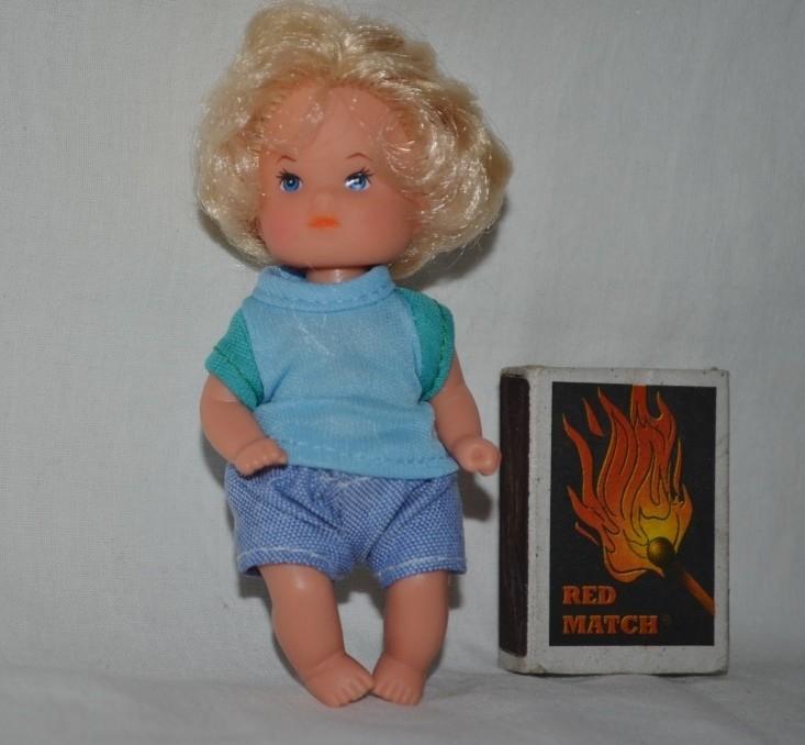 Фирменный очаровательный пупс кукла куколка в костюмчике редкая с волосиками симба simba фото №1