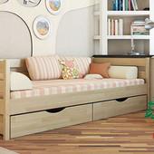 Кровать деревянная Нота, фабрика Эстелла