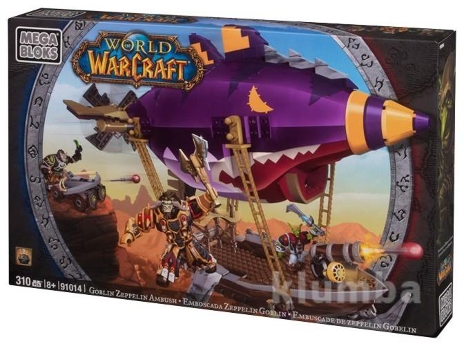 Набор конструктора дирижабль гоблинов. вселенная warcraft mega bloks (91014) фото №1