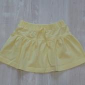 Яркая лимонная юбочка E-vie angel для девочки, размер 2-3 года, состояние новой вещи, не ношенная.