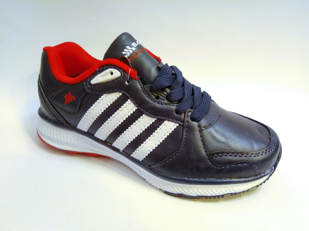 Стильные подростковые кроссовки для мальчика бренда bayota (р. 36-41), код 031 фото №2