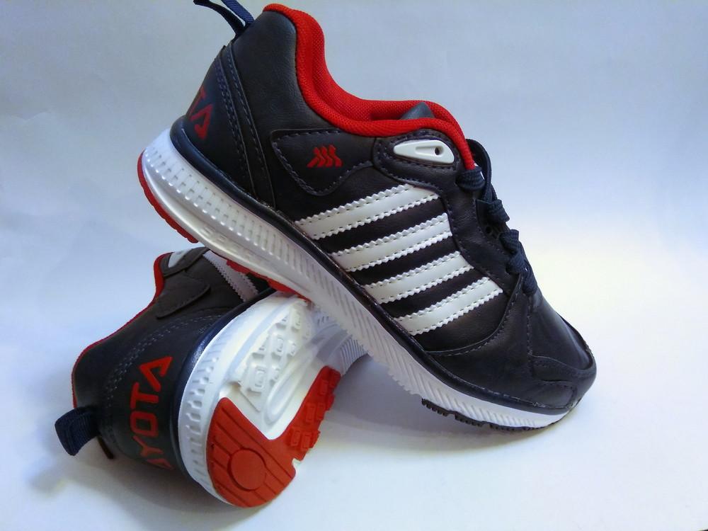 Стильные подростковые кроссовки для мальчика бренда bayota (р. 36-41), код 031 фото №3