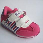 Скидка! Детские кроссовки для девочки, стелька кожаная с супинатором, р. 21-26, код 278