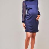 Эффектное нарядное платье для беременных с шифоновыми рукавами,3 цвета! подойдет и не беременным