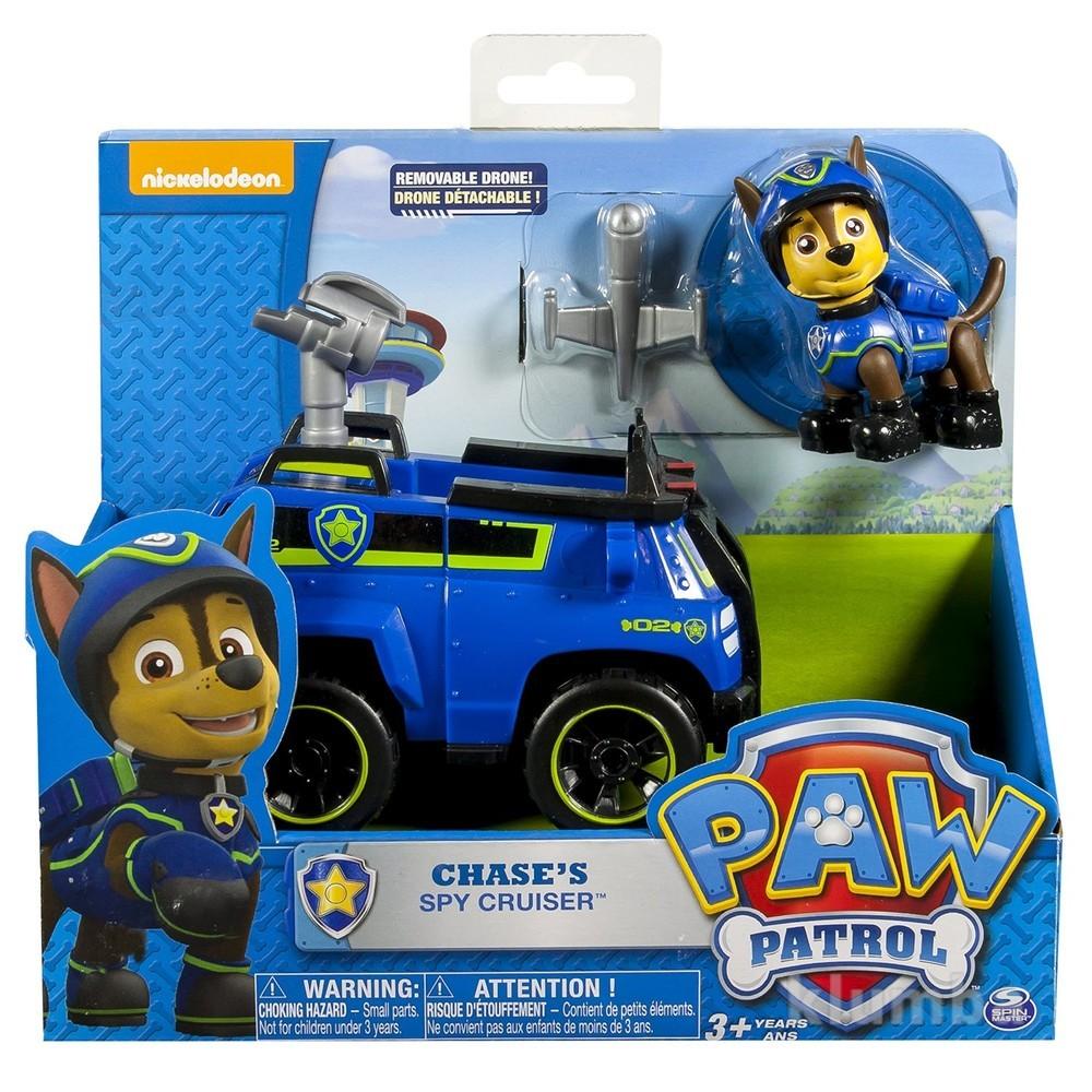 Paw patrol - chase's chase cruiser гонщик щенячий патруль чейз фото №1
