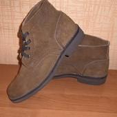 ботинки замшевые 29 см
