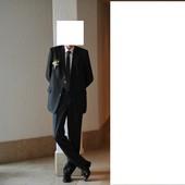 Чорний брючний костюм р.L-XL (48-50)