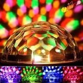 Светодиодный дискошар LED  MP3
