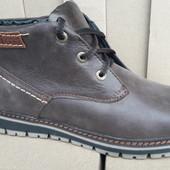 Зимние мужские ботинки Комфорт Натуральная кожа