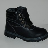 Kimboo арт. 1510B черный Зимняя обувь для мальчиков. р.27,28,29,31,32