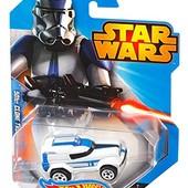 Hot wheels star wars character car машинка звездные войны
