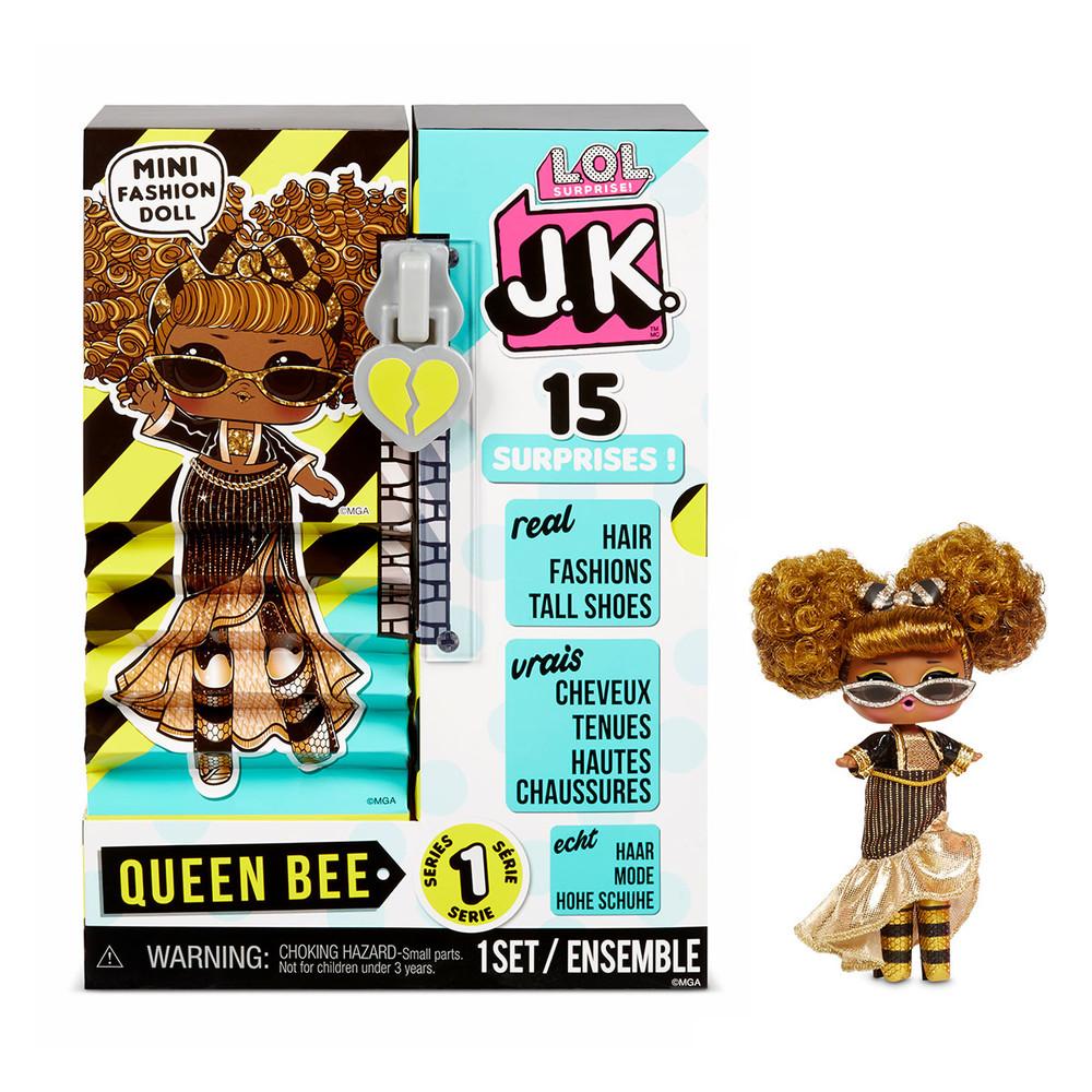 L.o.l. surprise лол кукла игровой набор с куклой серии j.k. сюрприз королева пчелка фото №1
