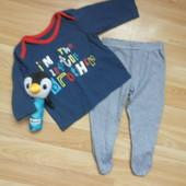Фирменный комплект M&S малышу 3-6 месяцев состояние отличное