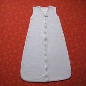 Спальный мешок на 6-18 месяцев, б/у. Длина 80 см. На последнем фото дефект.